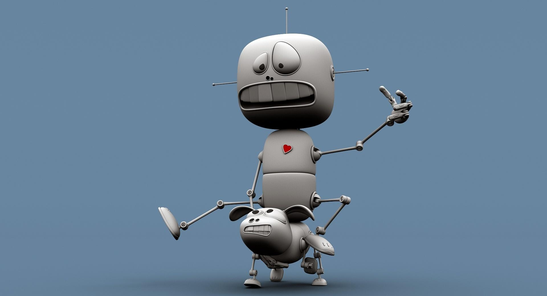 Funny Robots wallpapers HD quality
