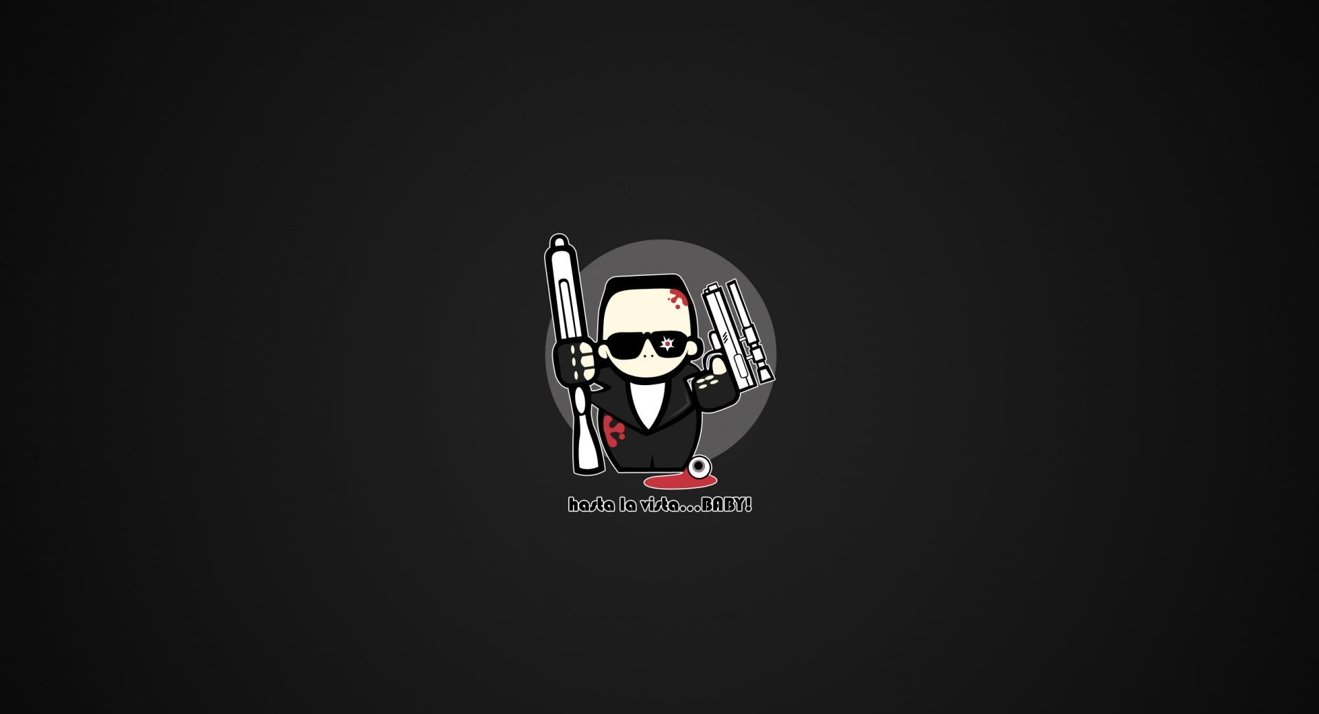 Funny Terminator Cartoon wallpapers HD quality