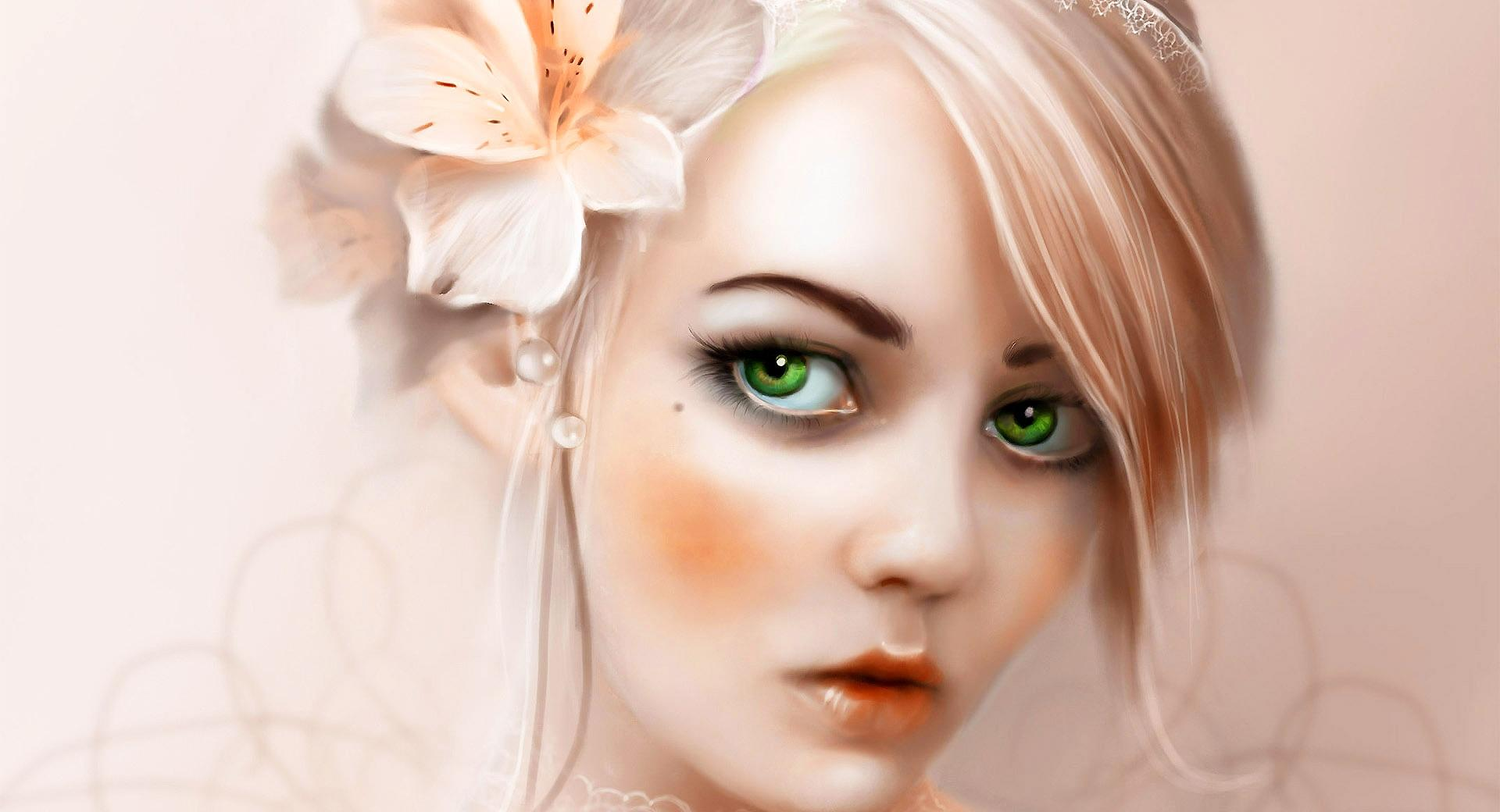 Green Eyes wallpapers HD quality