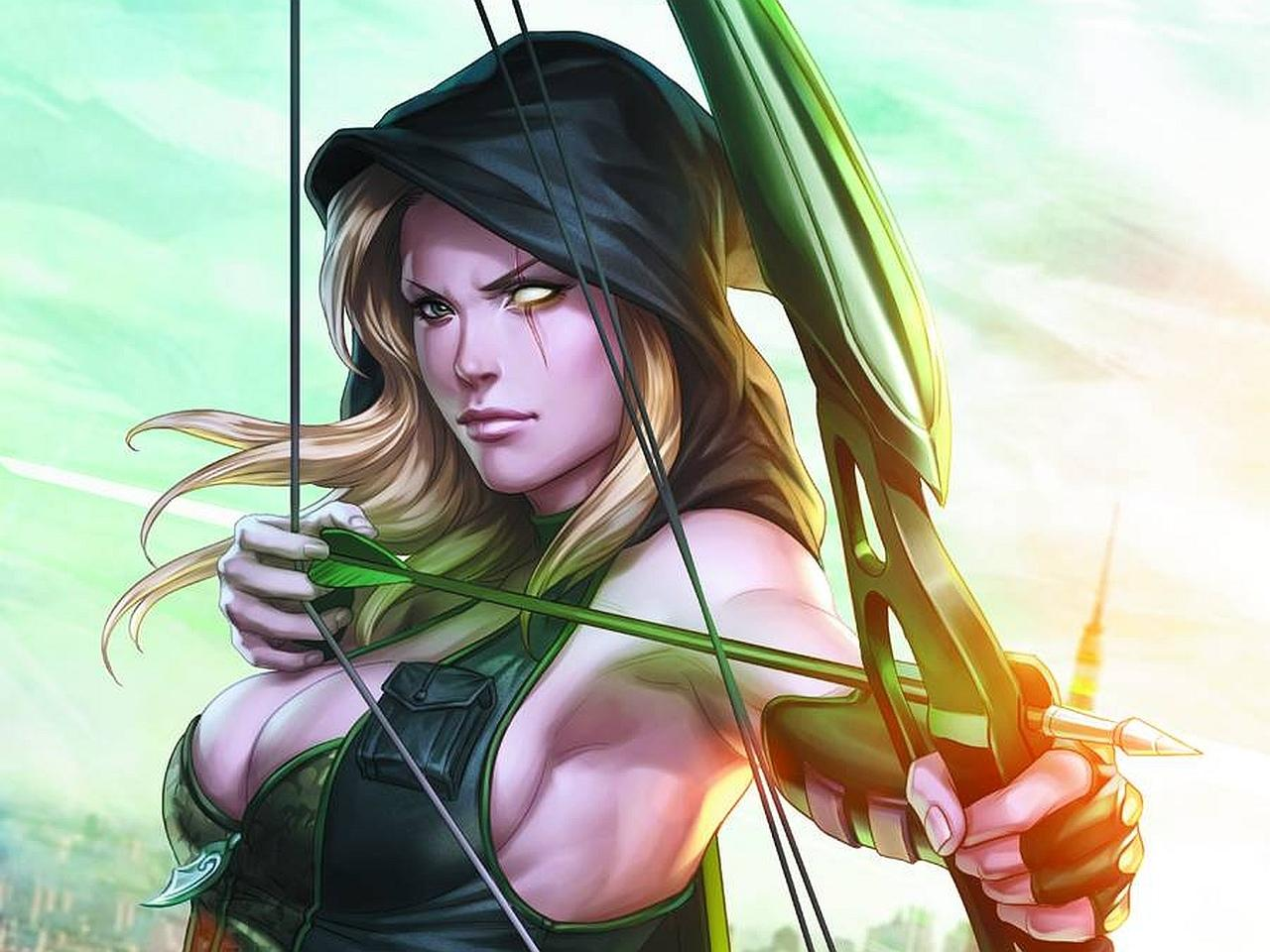 Grimm Fairy Tales Robyn Hood at 640 x 1136 iPhone 5 size wallpapers HD quality