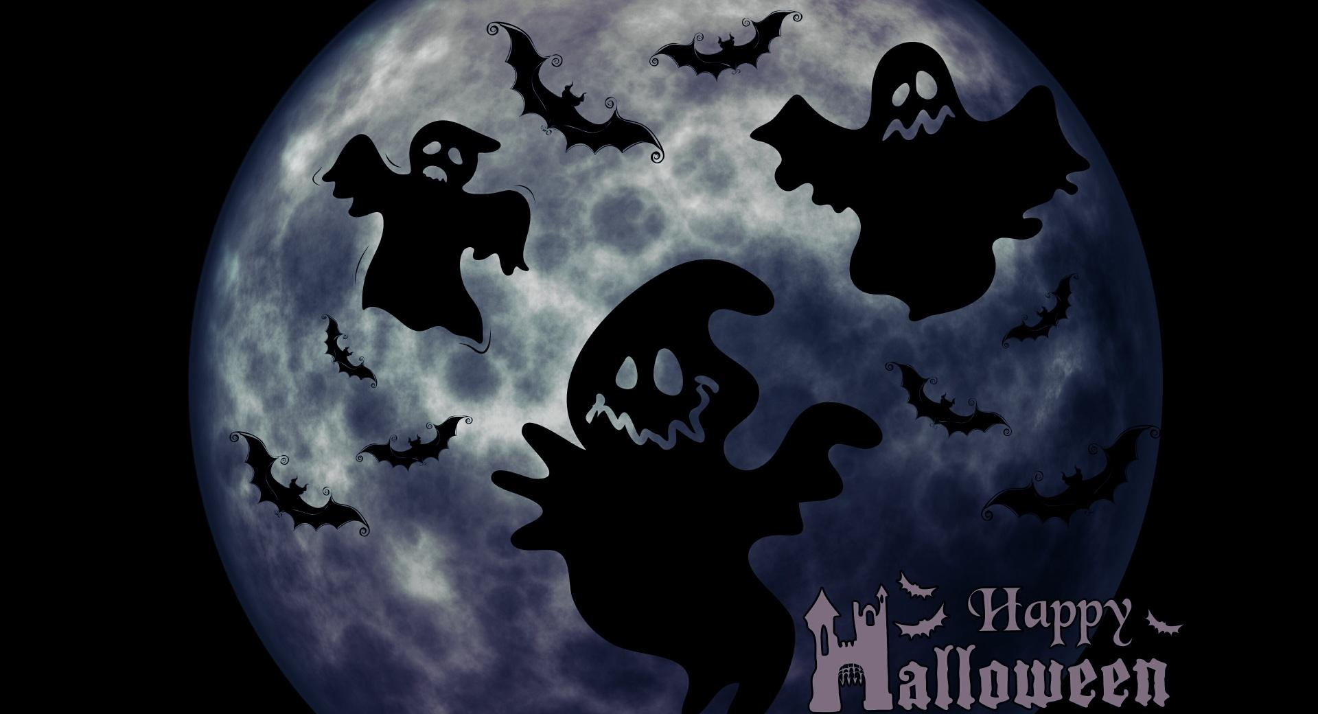 Halloween Ghosts Night wallpapers HD quality