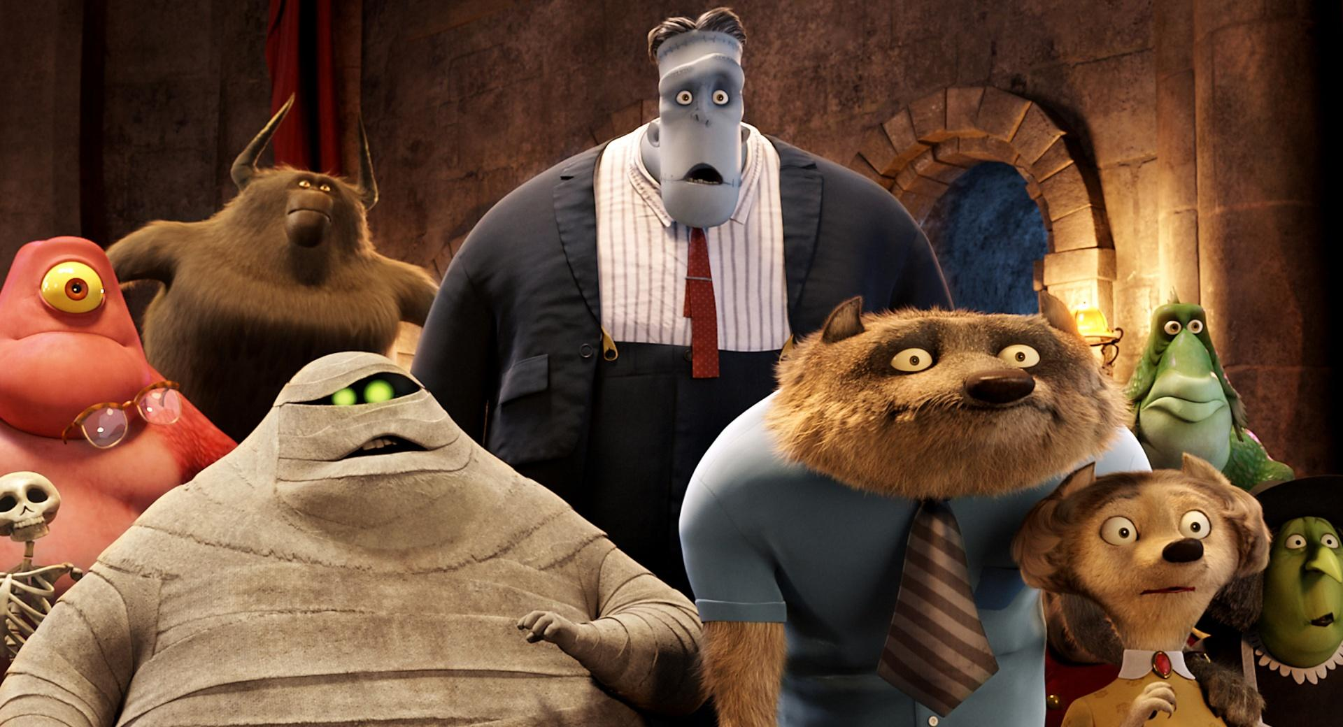 Hotel Transylvania Guests wallpapers HD quality