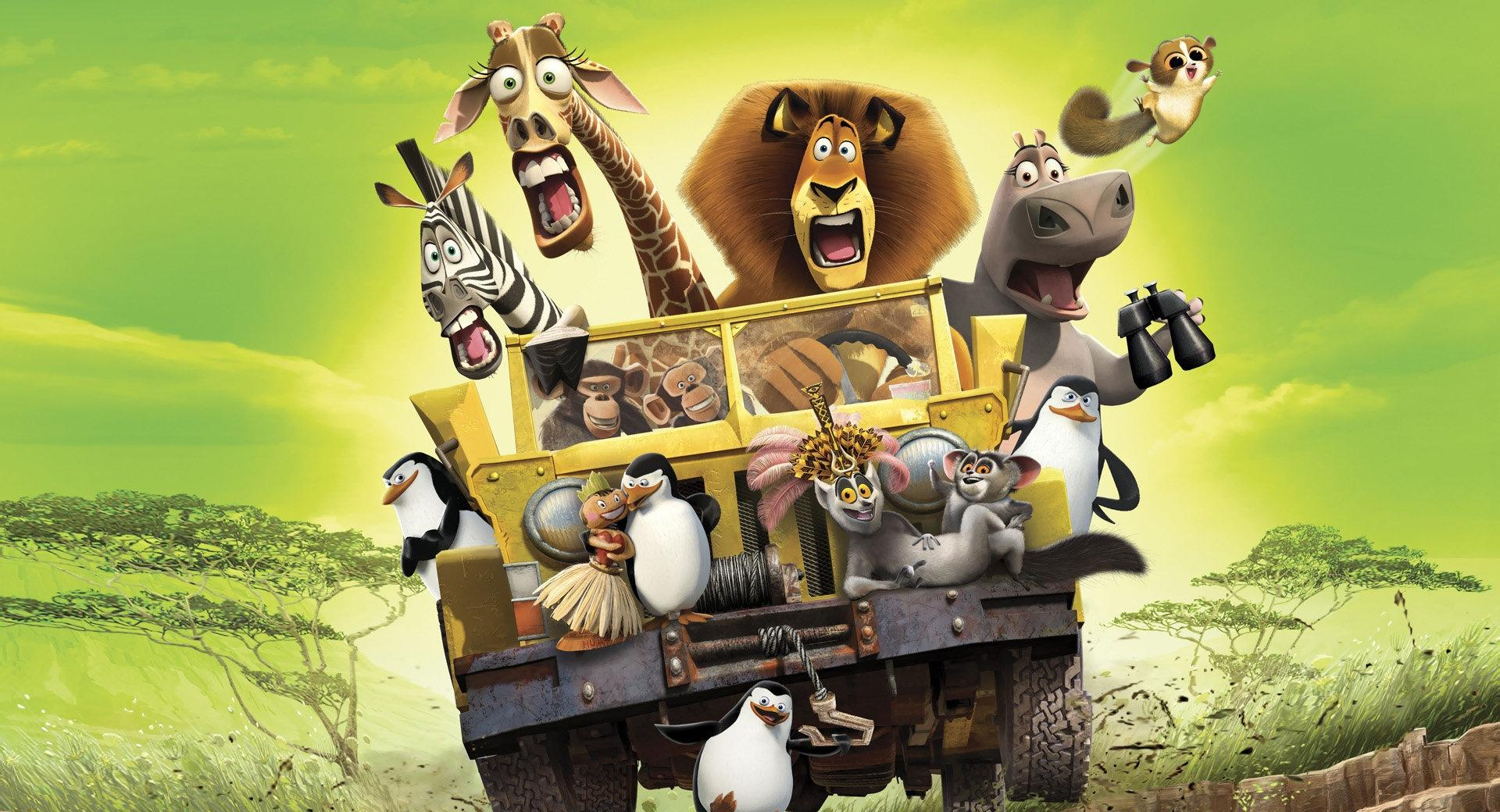 Madagascar 2 wallpapers HD quality