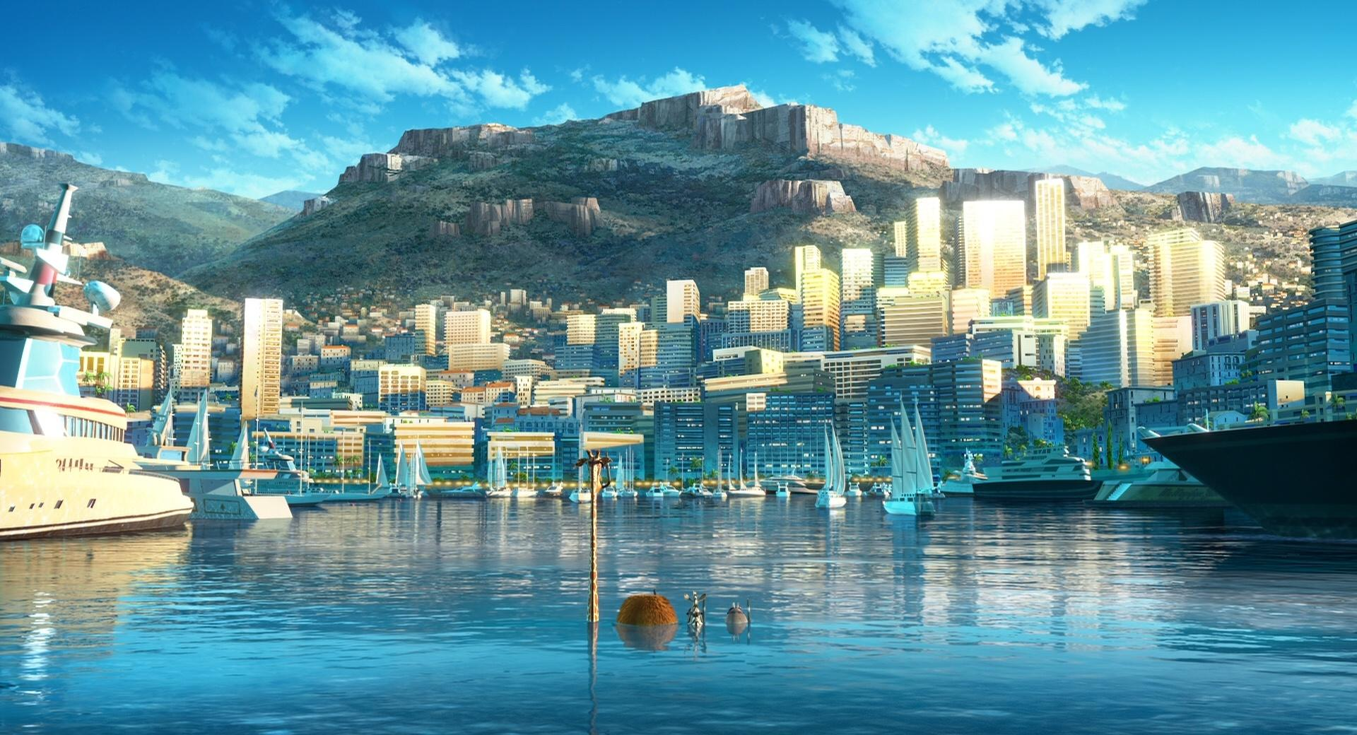 Madagascar 3 Monte Carlo wallpapers HD quality