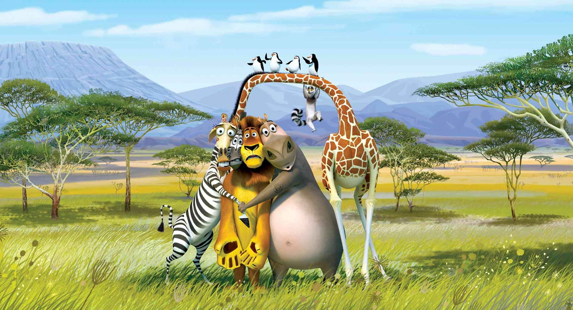 Madagascar The Crate Escape wallpapers HD quality