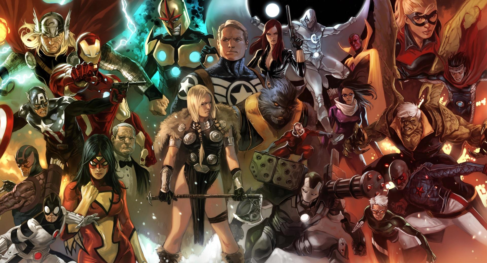 Marvel Comics Characters wallpapers HD quality