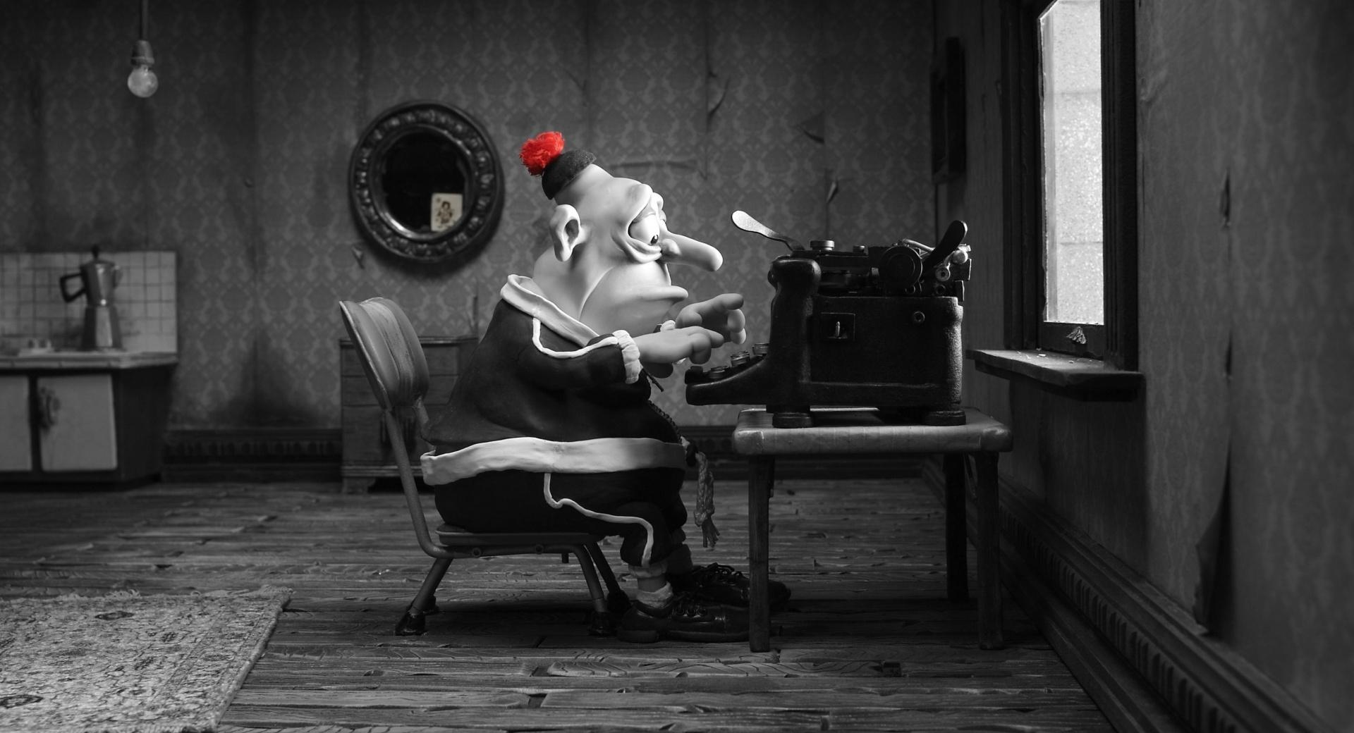 Mary And Max Man Typing wallpapers HD quality