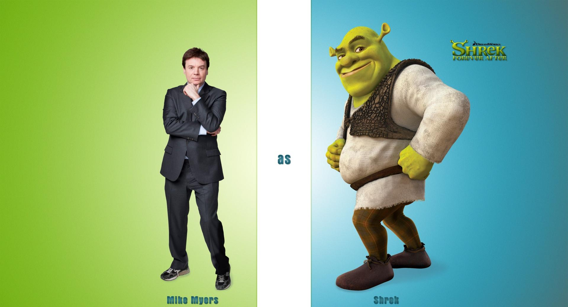 Mike Myers as Shrek, Shrek Forever After wallpapers HD quality
