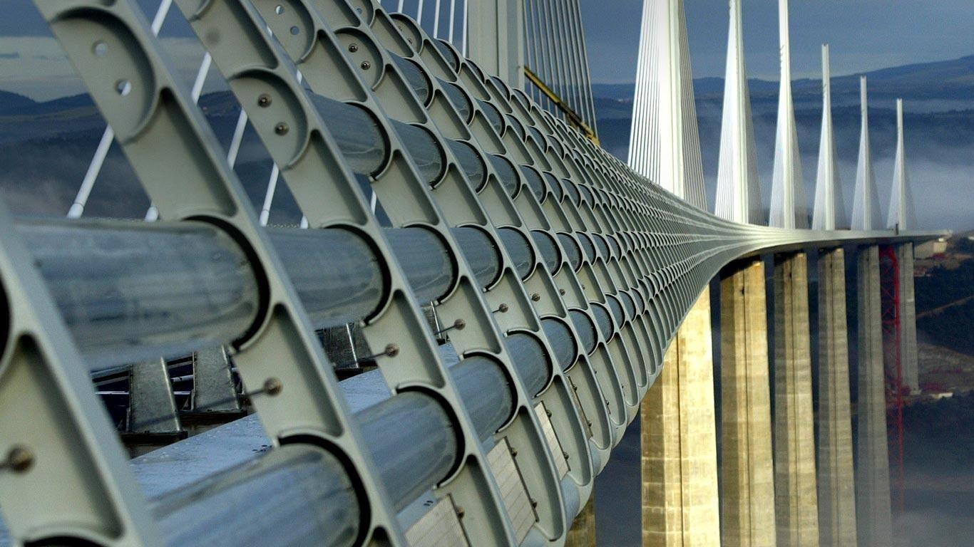 Millau Viaduct wallpapers HD quality