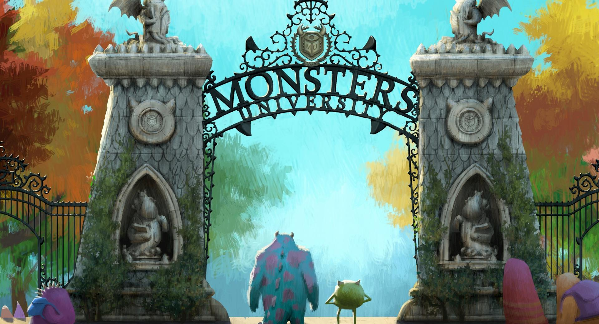 Monsters University (2013) wallpapers HD quality