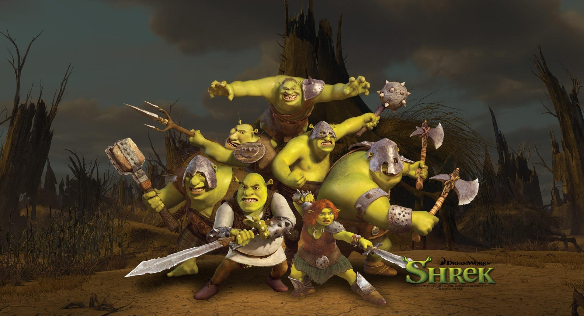 Ogres, Shrek The Final Chapter wallpapers HD quality