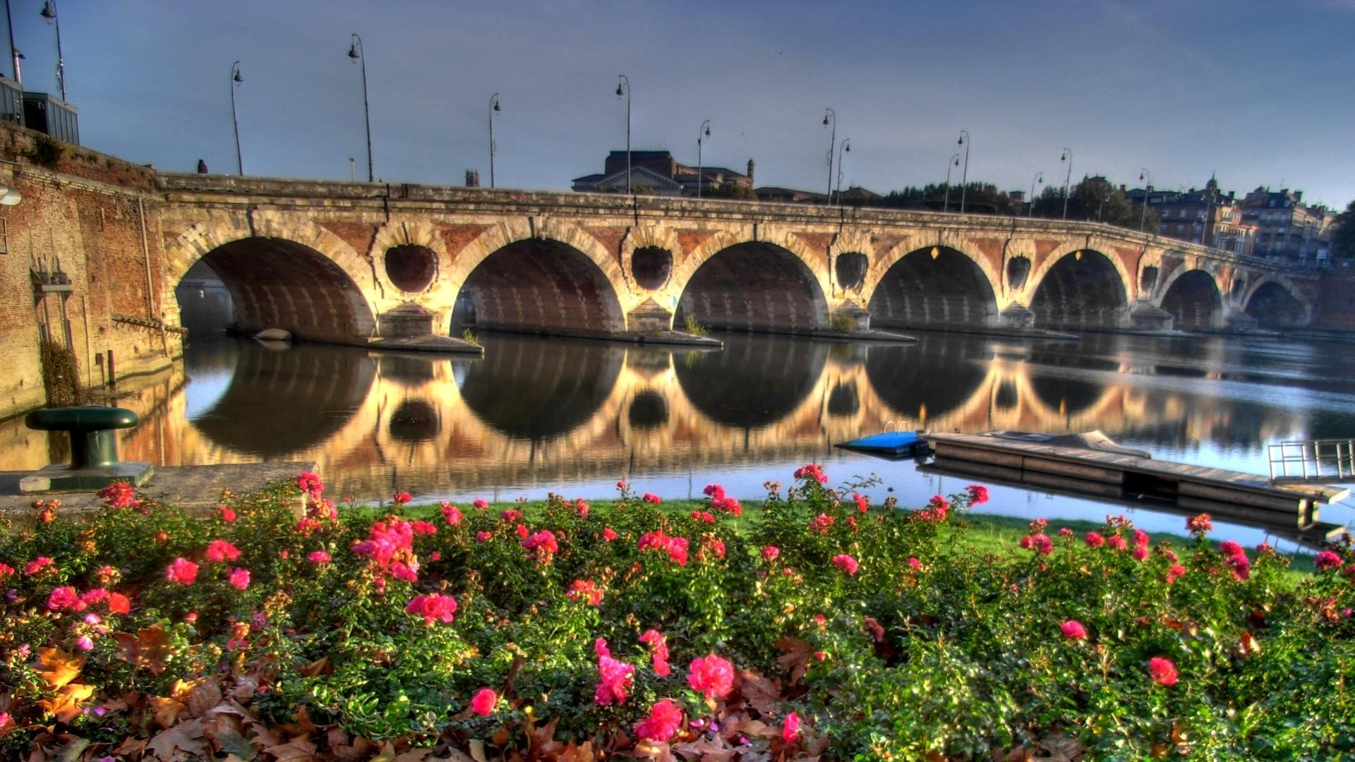 Pont Neuf, Toulouse wallpapers HD quality