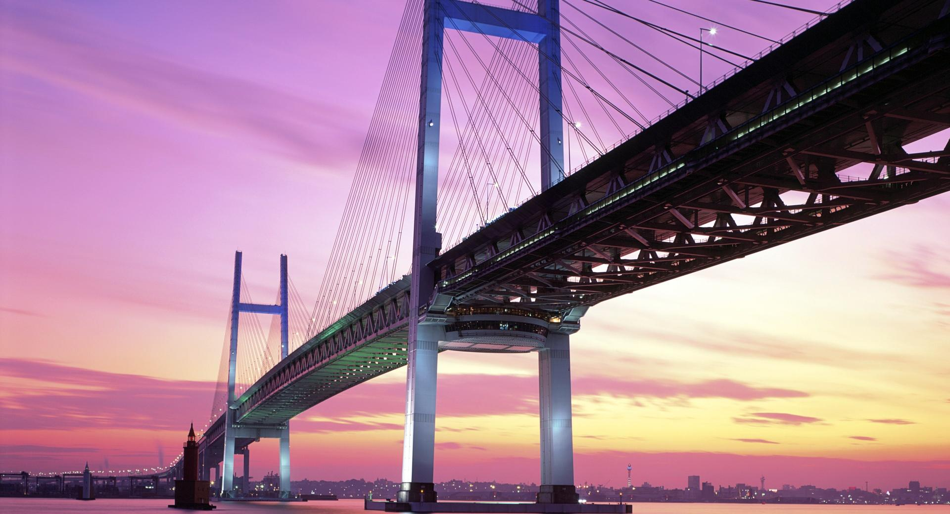Ponte Japan at 640 x 960 iPhone 4 size wallpapers HD quality