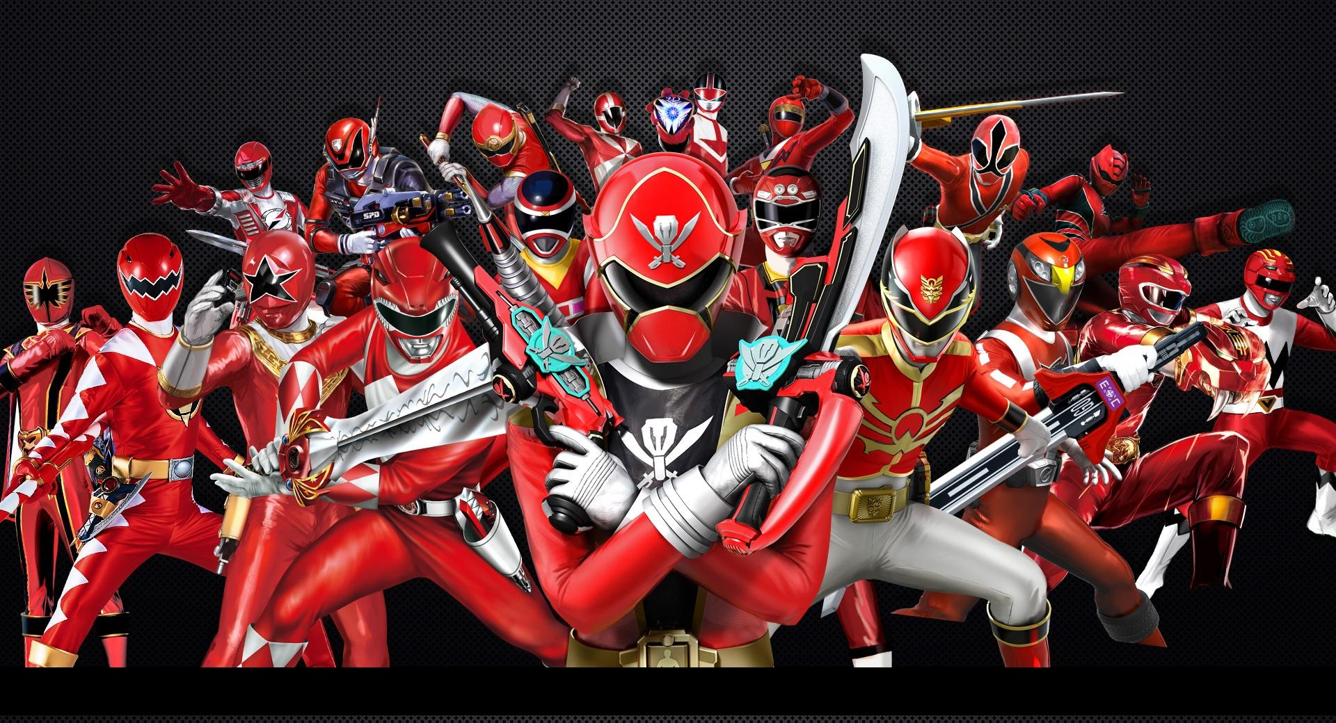 Power Rangers Forever Red wallpapers HD quality