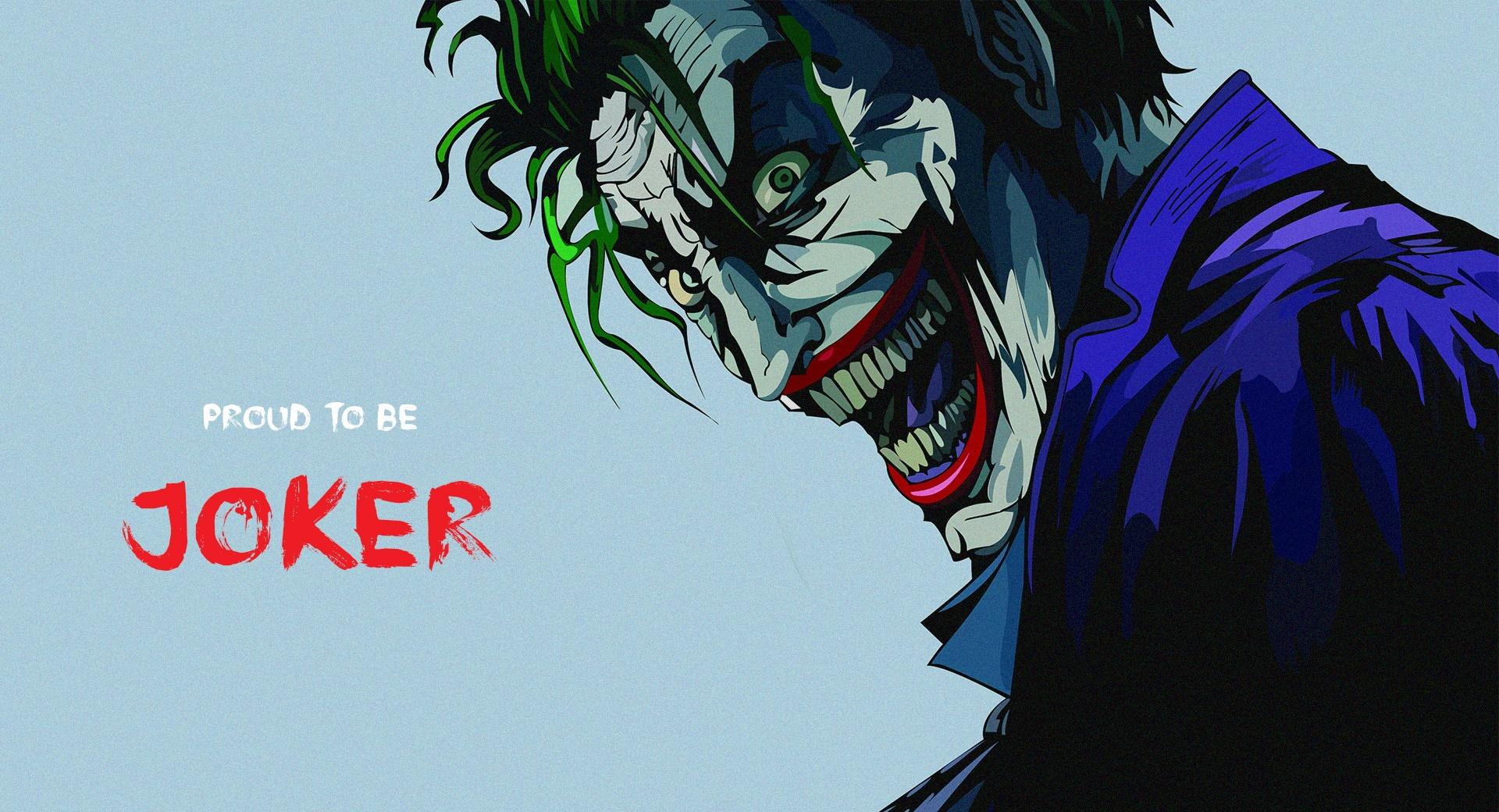 Proud to be Joker wallpapers HD quality