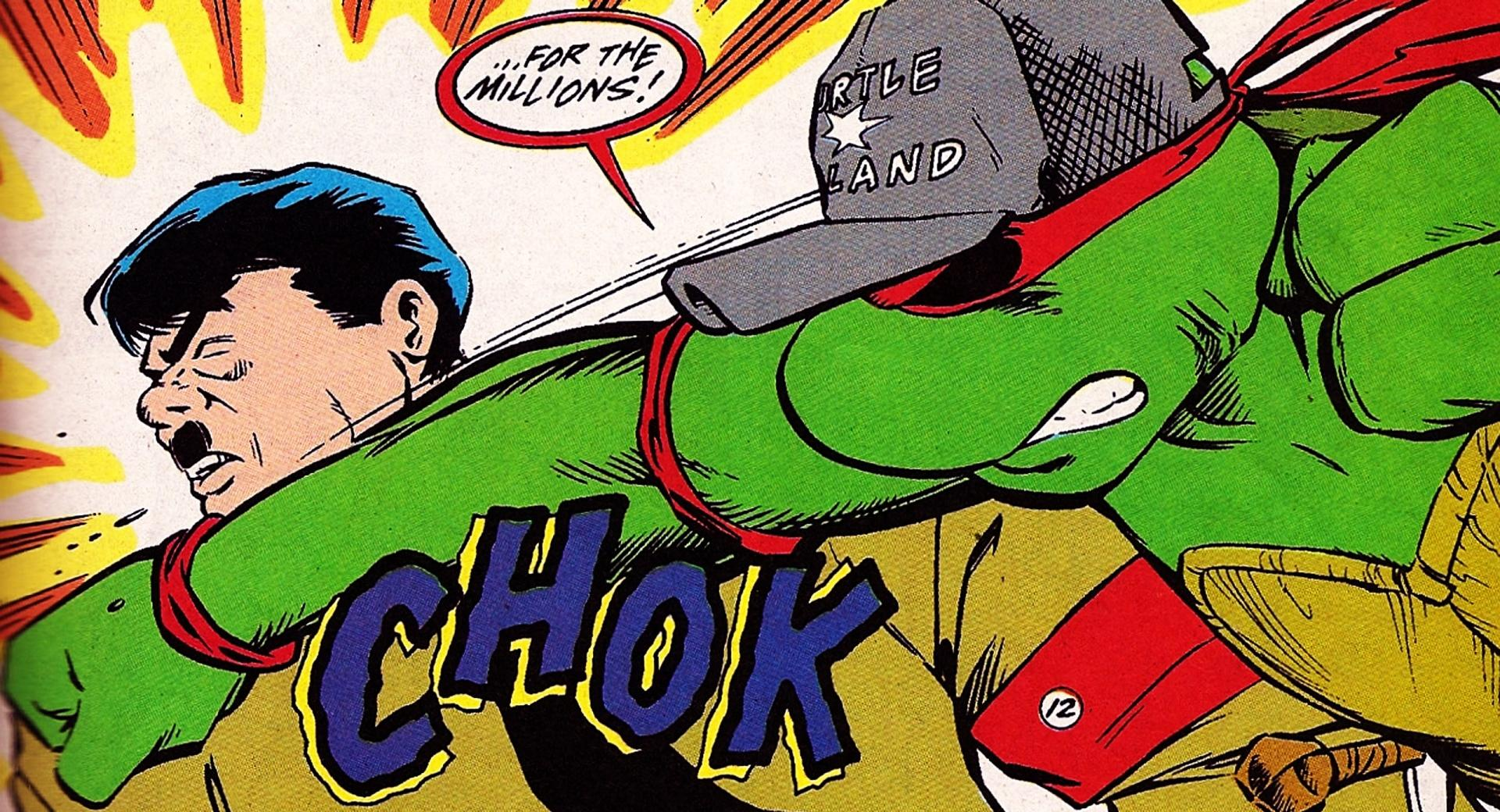 Raphael Punching Hitler wallpapers HD quality