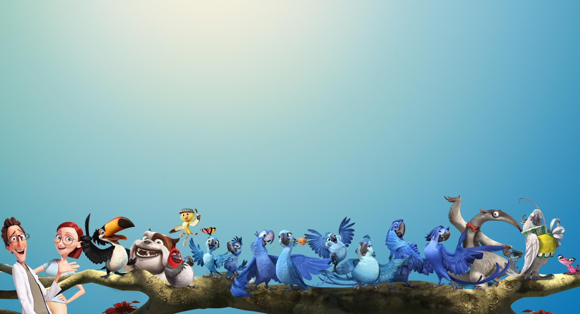 Rio 2 All Characters wallpapers HD quality