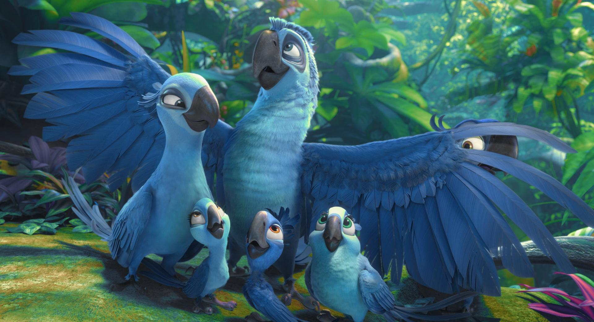 Rio 2 Blu And Jewels Kids wallpapers HD quality