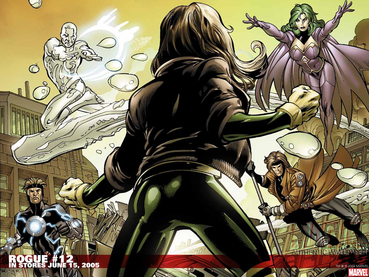 Rogue Comics at 320 x 480 iPhone size wallpapers HD quality