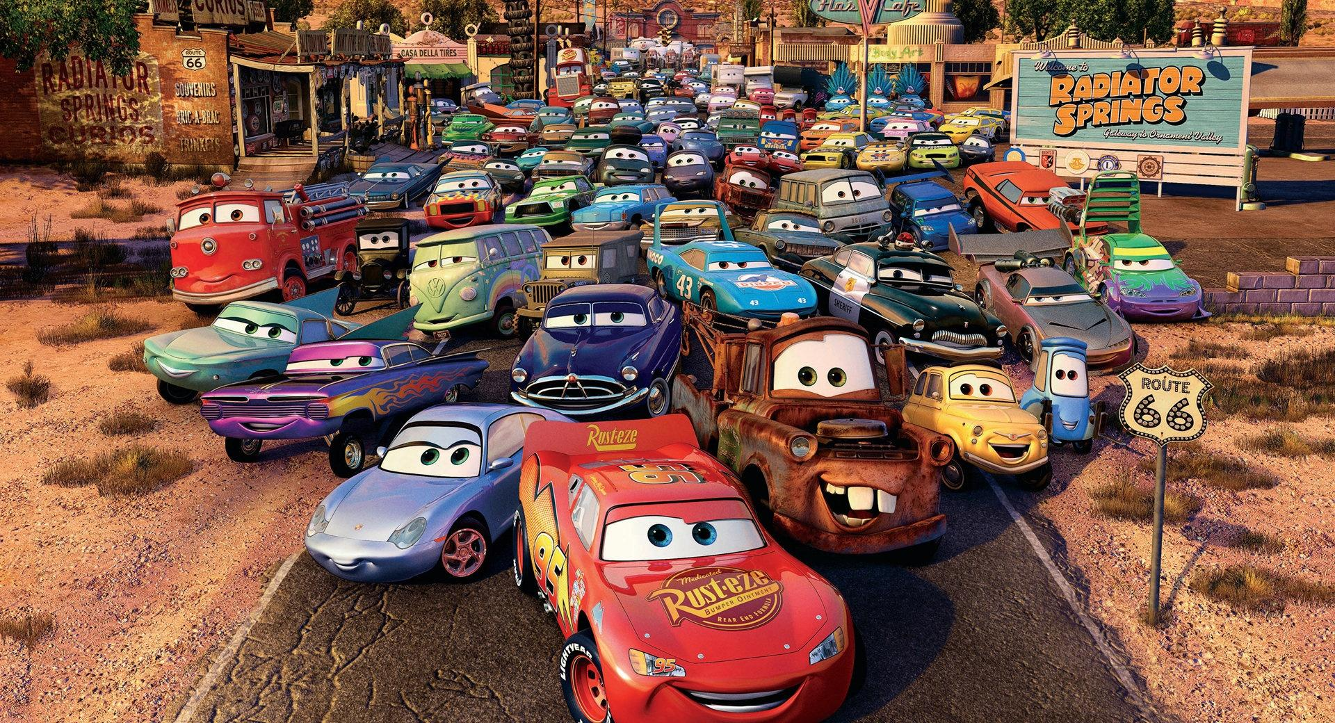 Route 66 Cars Movie wallpapers HD quality