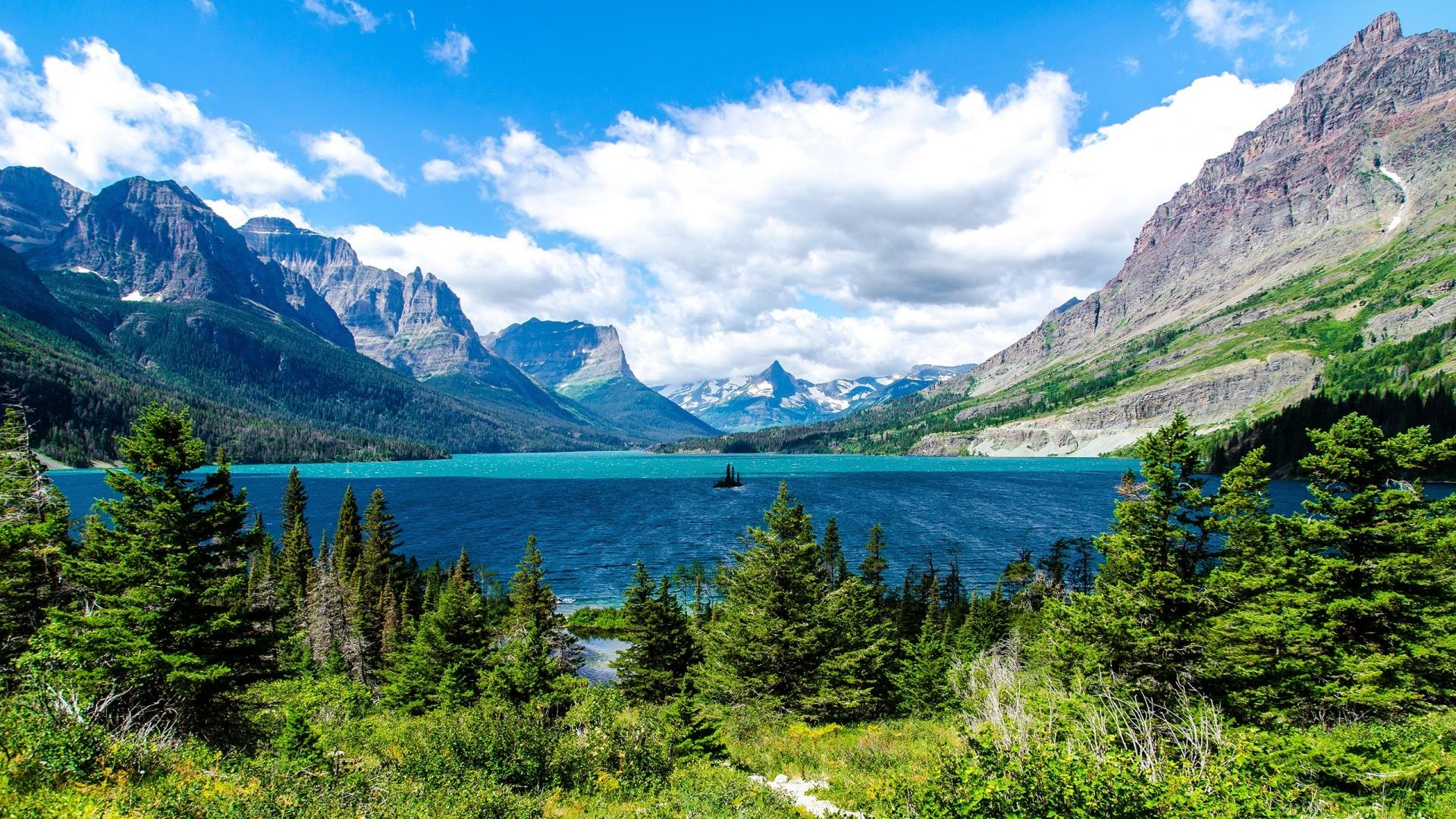 Saint Mary Lake wallpapers HD quality