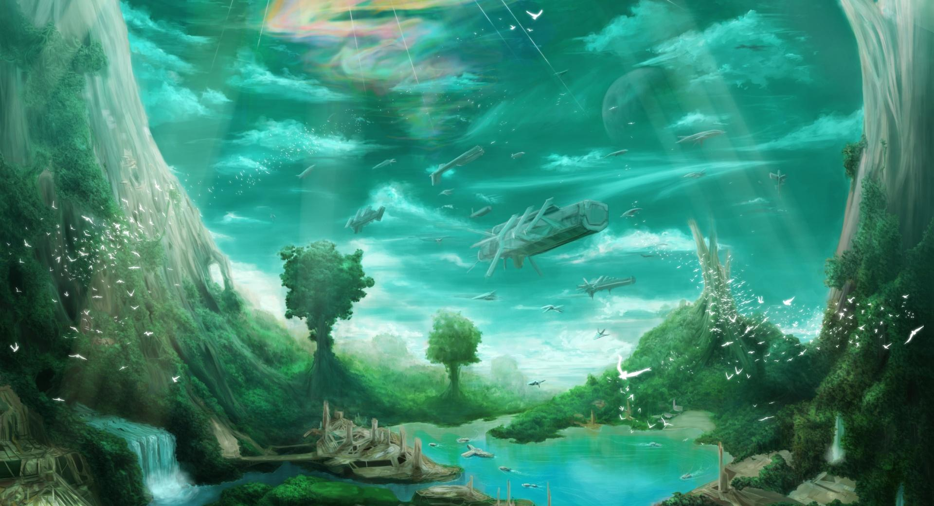 Science Fiction Paradise wallpapers HD quality