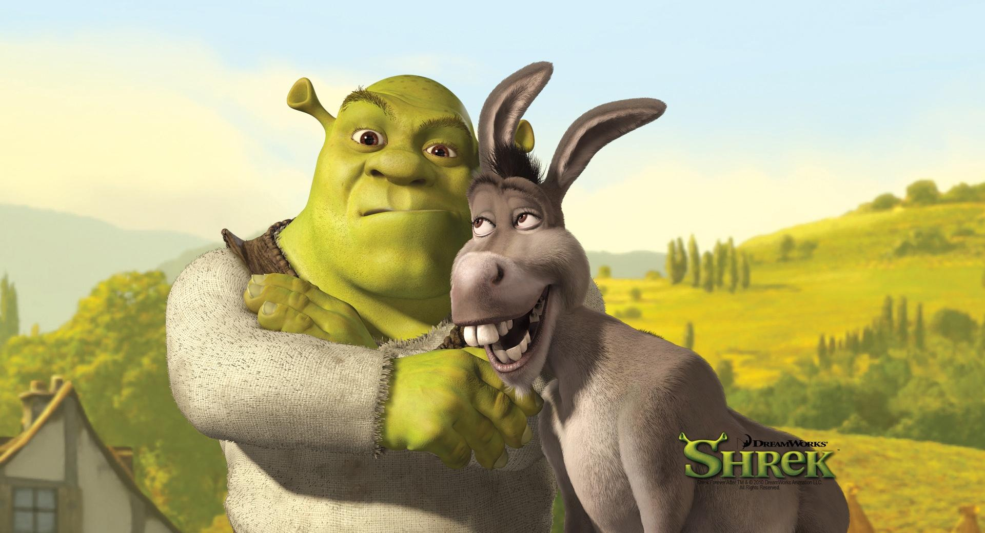 Shrek And Donkey, Shrek The Final Chapter wallpapers HD quality