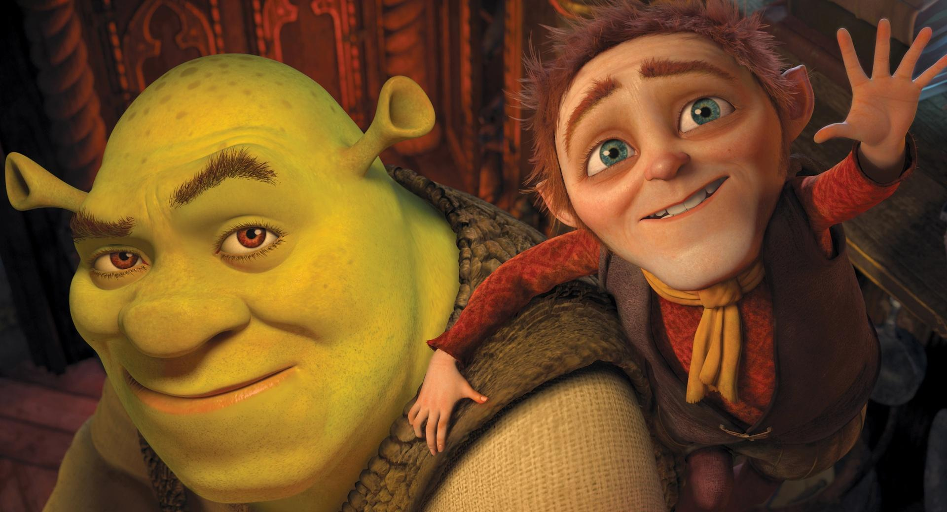 Shrek and Rumpelstiltskin, Shrek Forever After wallpapers HD quality
