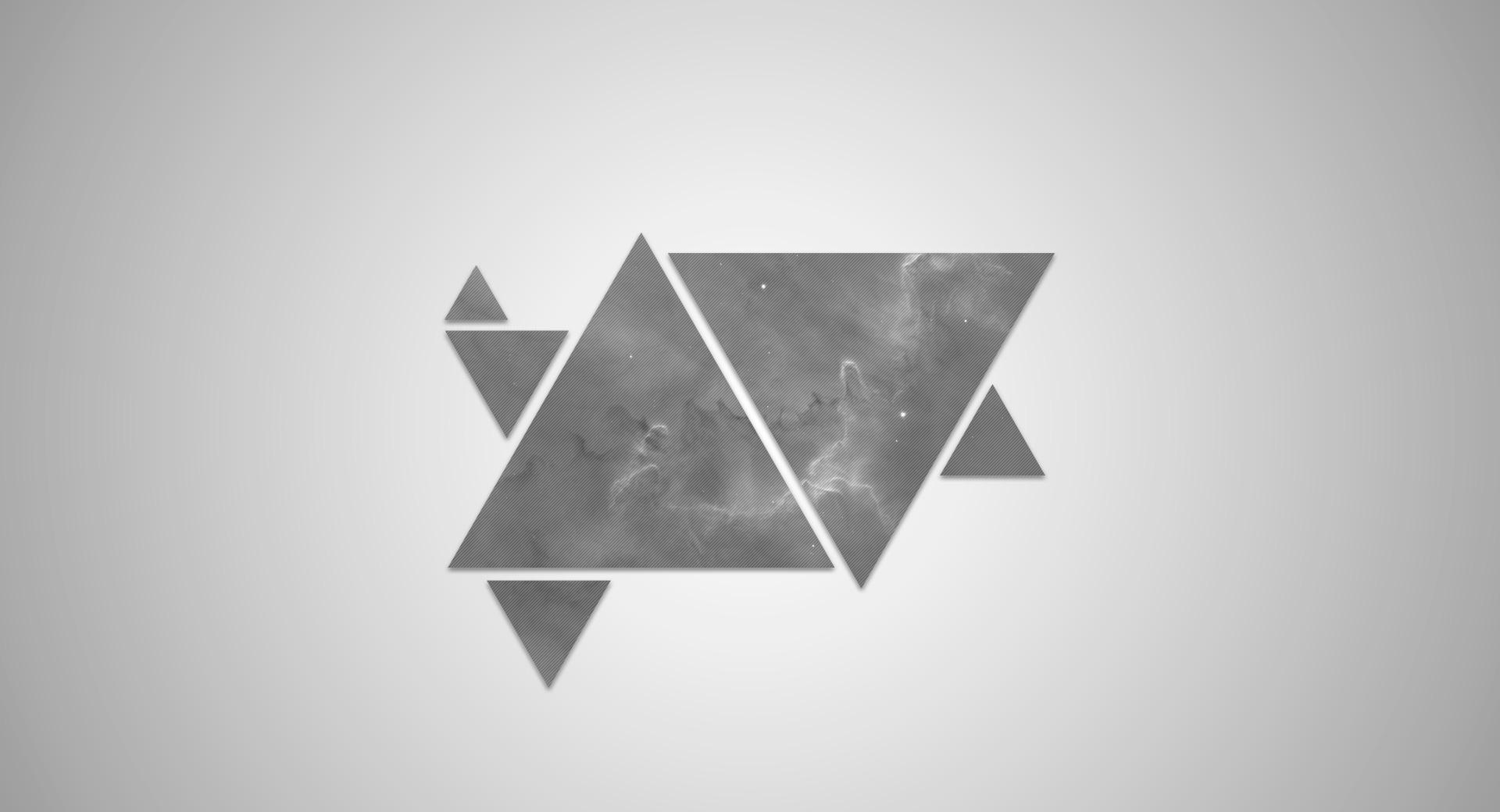 Space Triangles at 750 x 1334 iPhone 6 size wallpapers HD quality