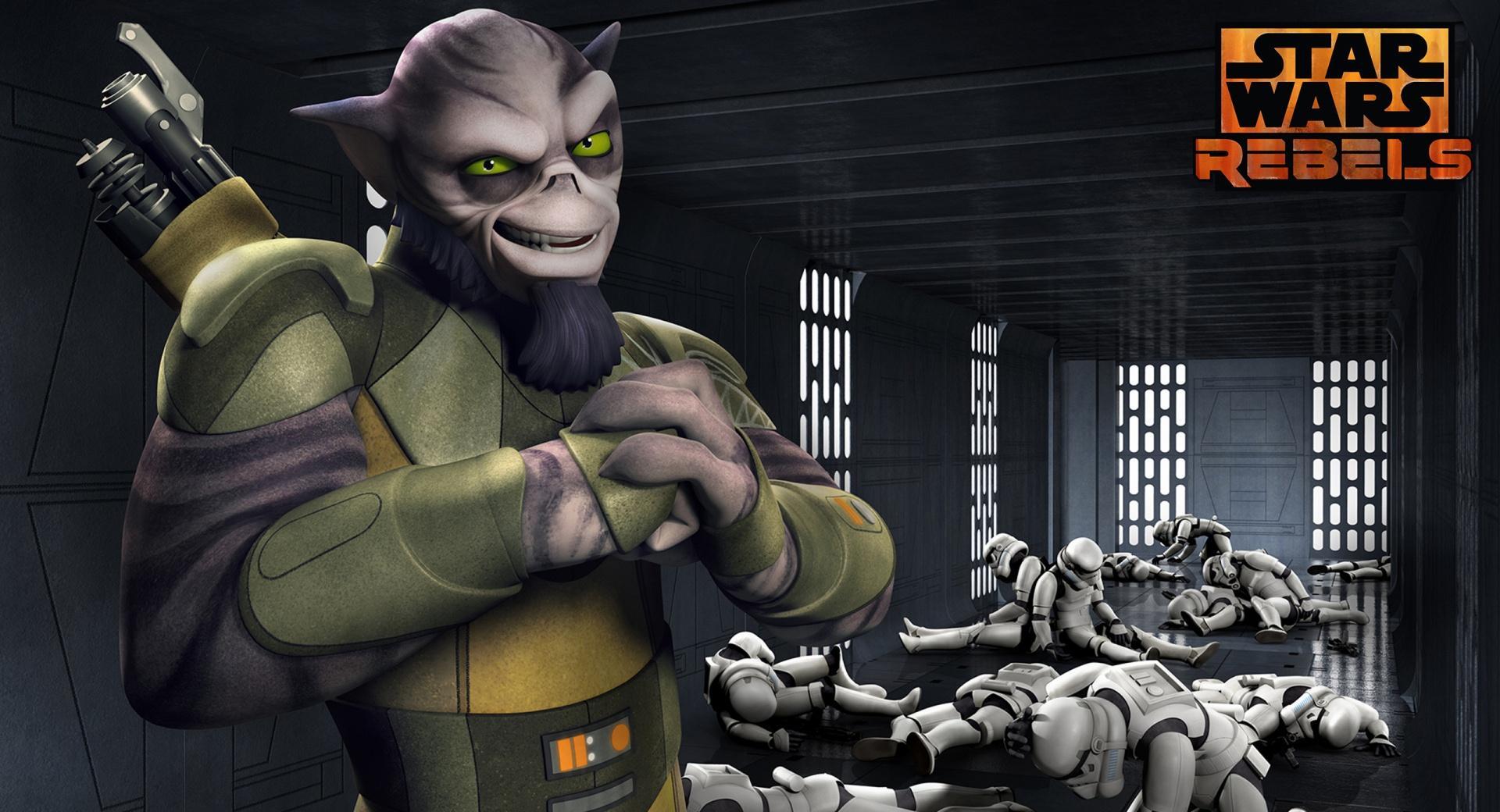 Star Wars Rebels Zeb wallpapers HD quality