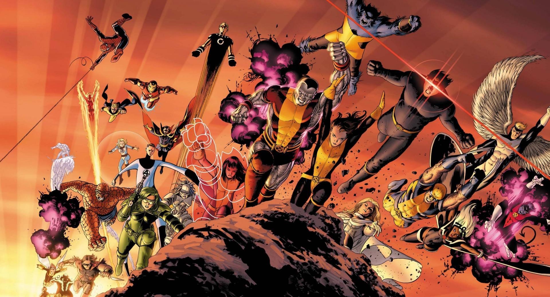 Superheroes Cartoons wallpapers HD quality