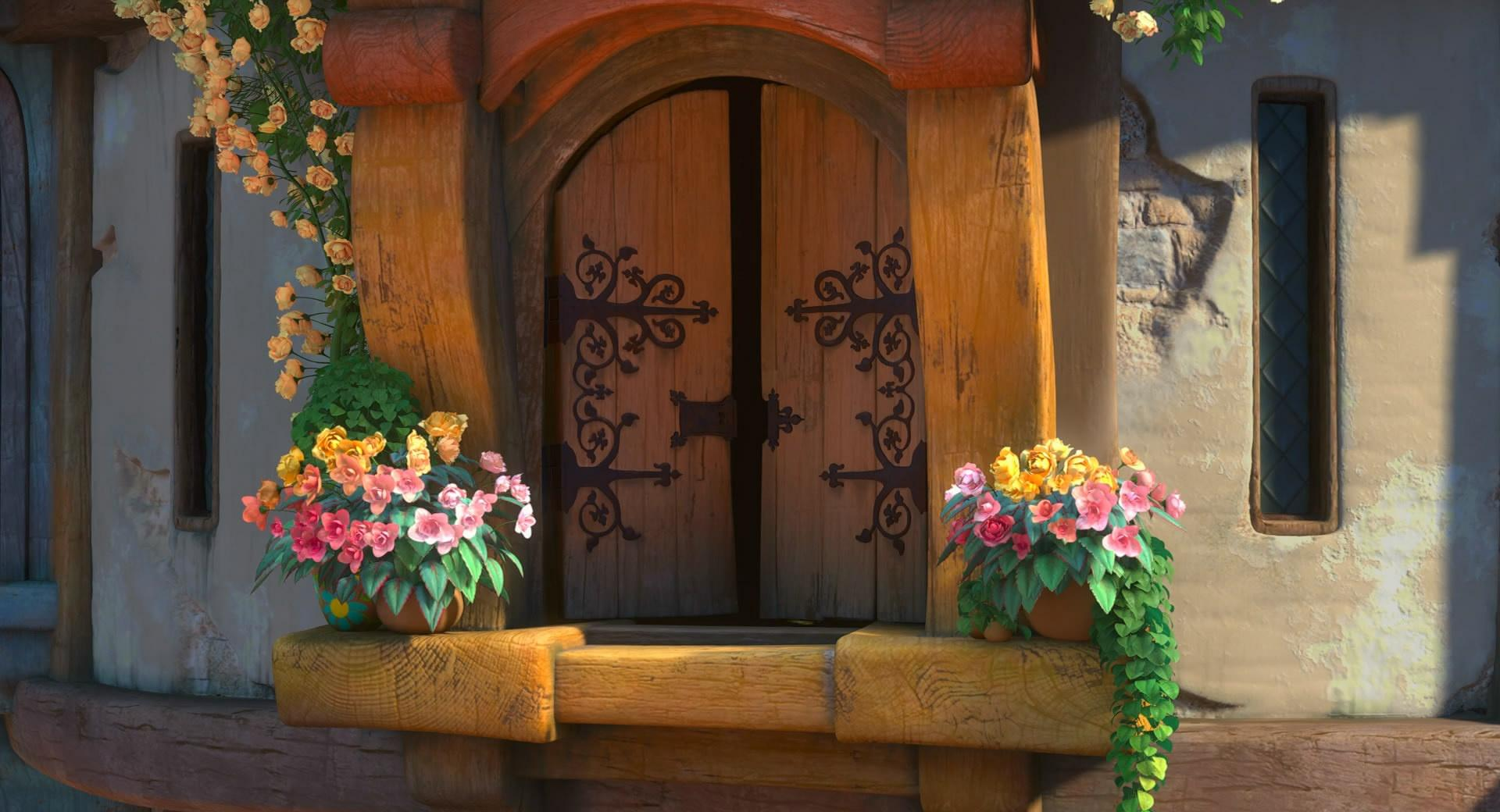 Tangled The Tower Window wallpapers HD quality