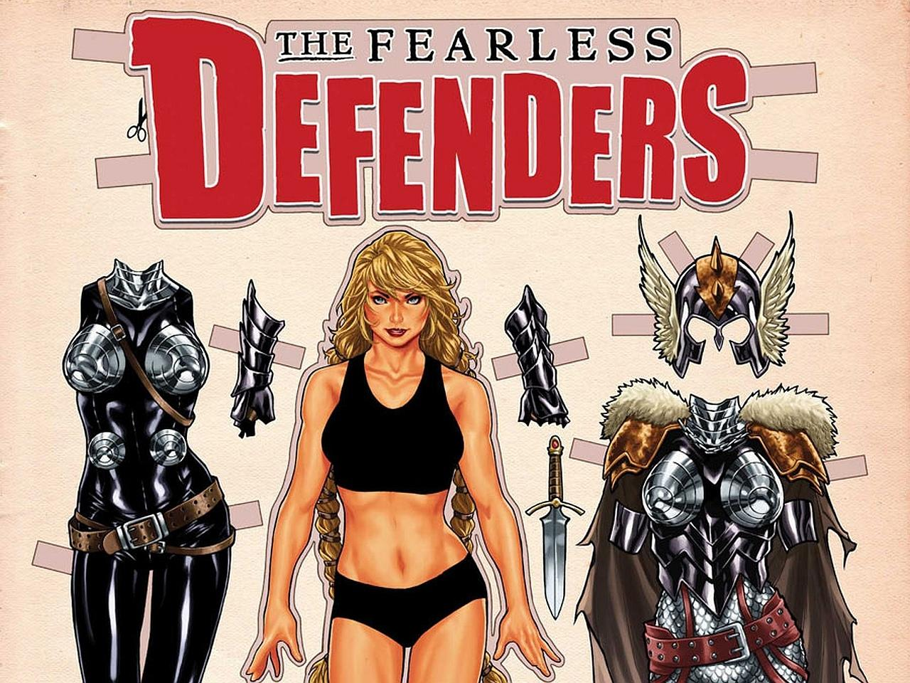 The Fearless Defenders wallpapers HD quality