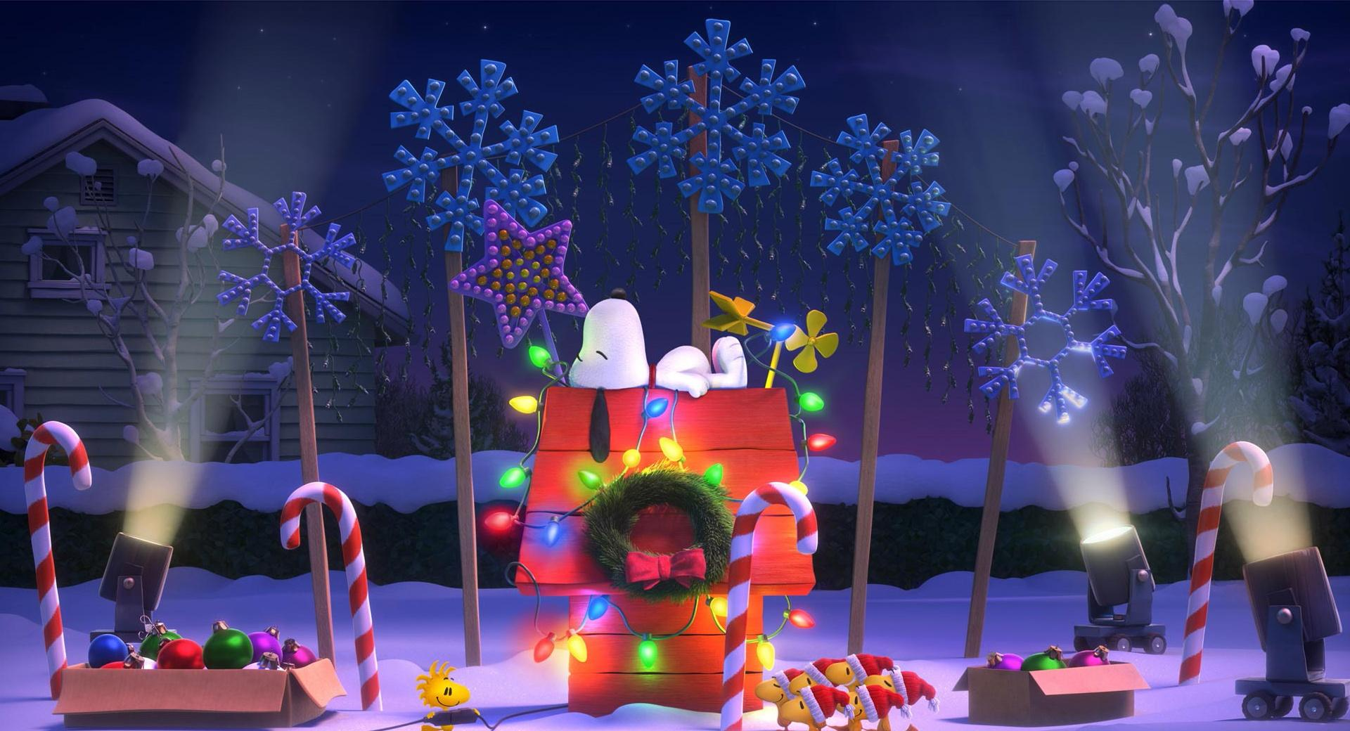 The Peanuts Christmas at 750 x 1334 iPhone 6 size wallpapers HD quality