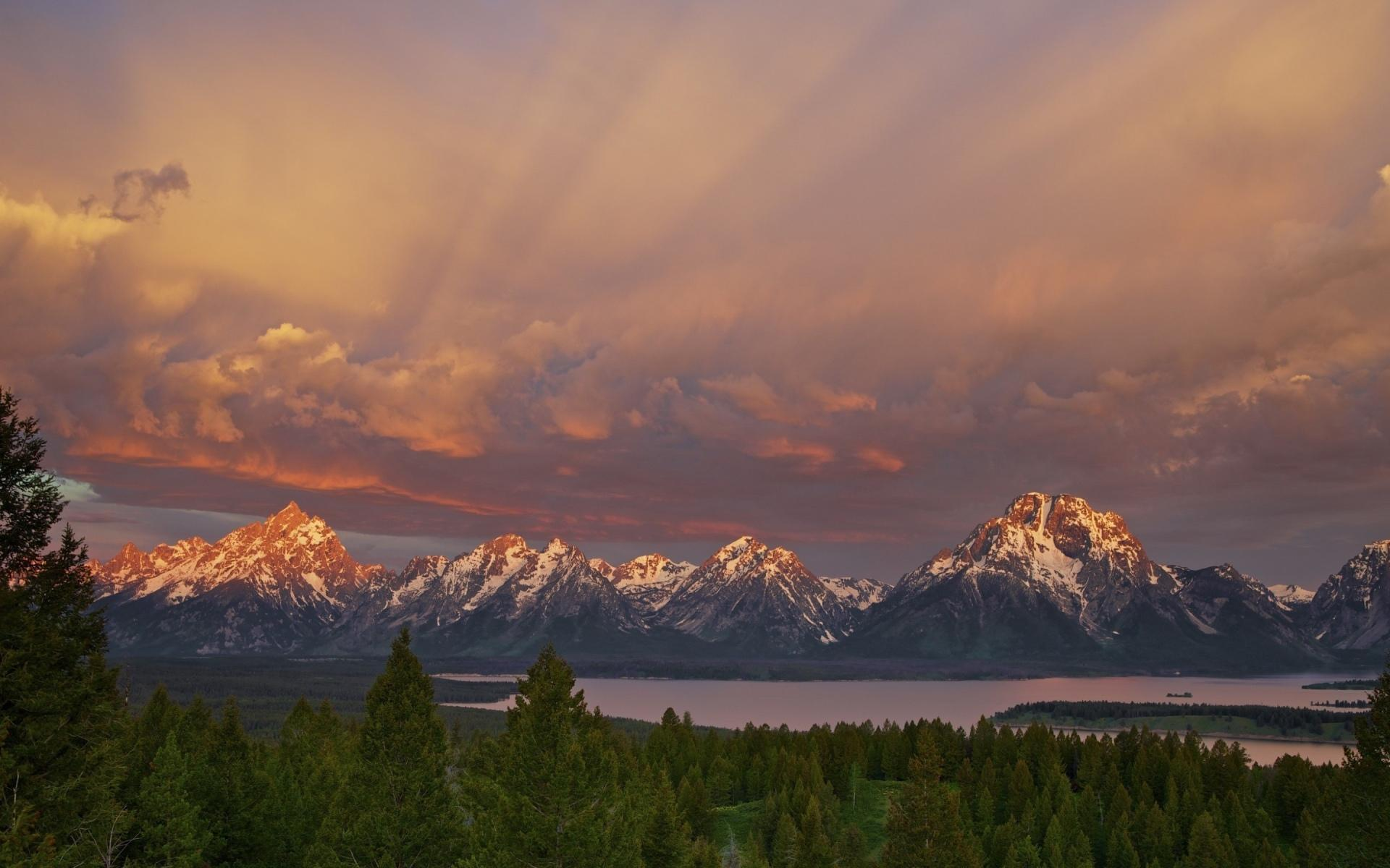 The Teton Range wallpapers HD quality