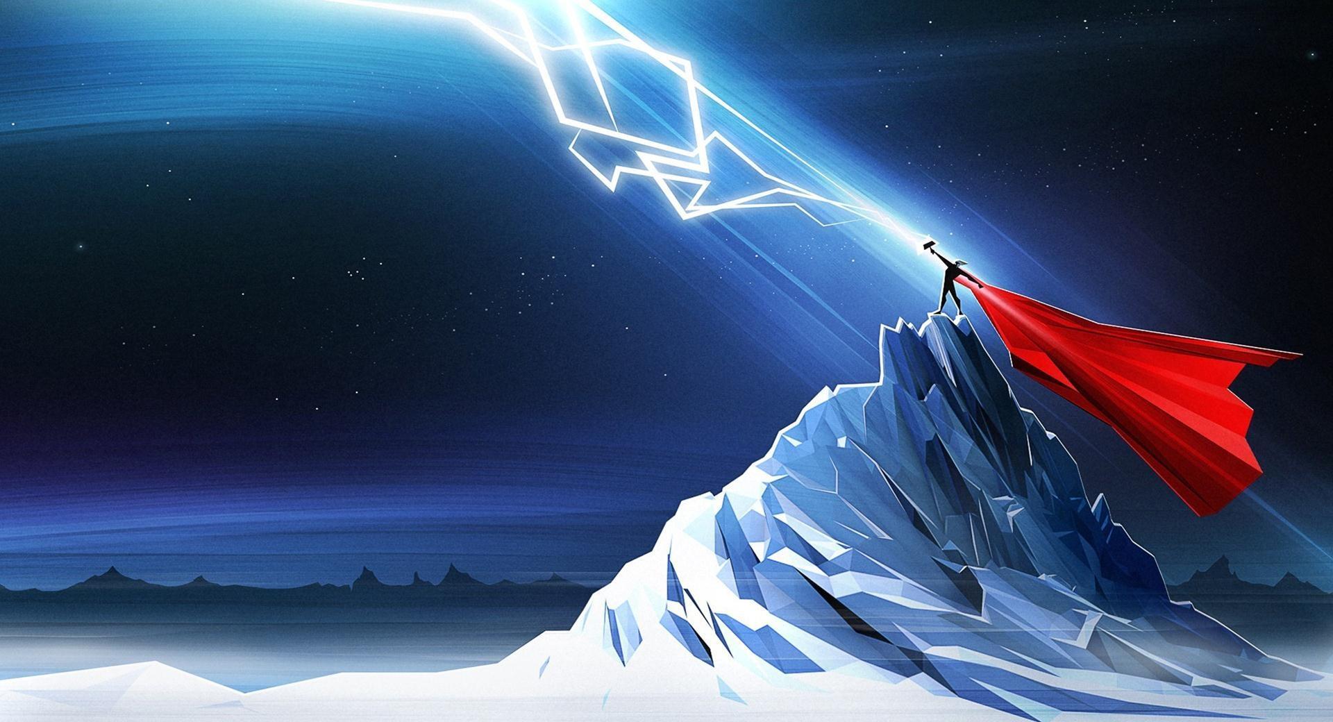 Thor Lightning Art wallpapers HD quality