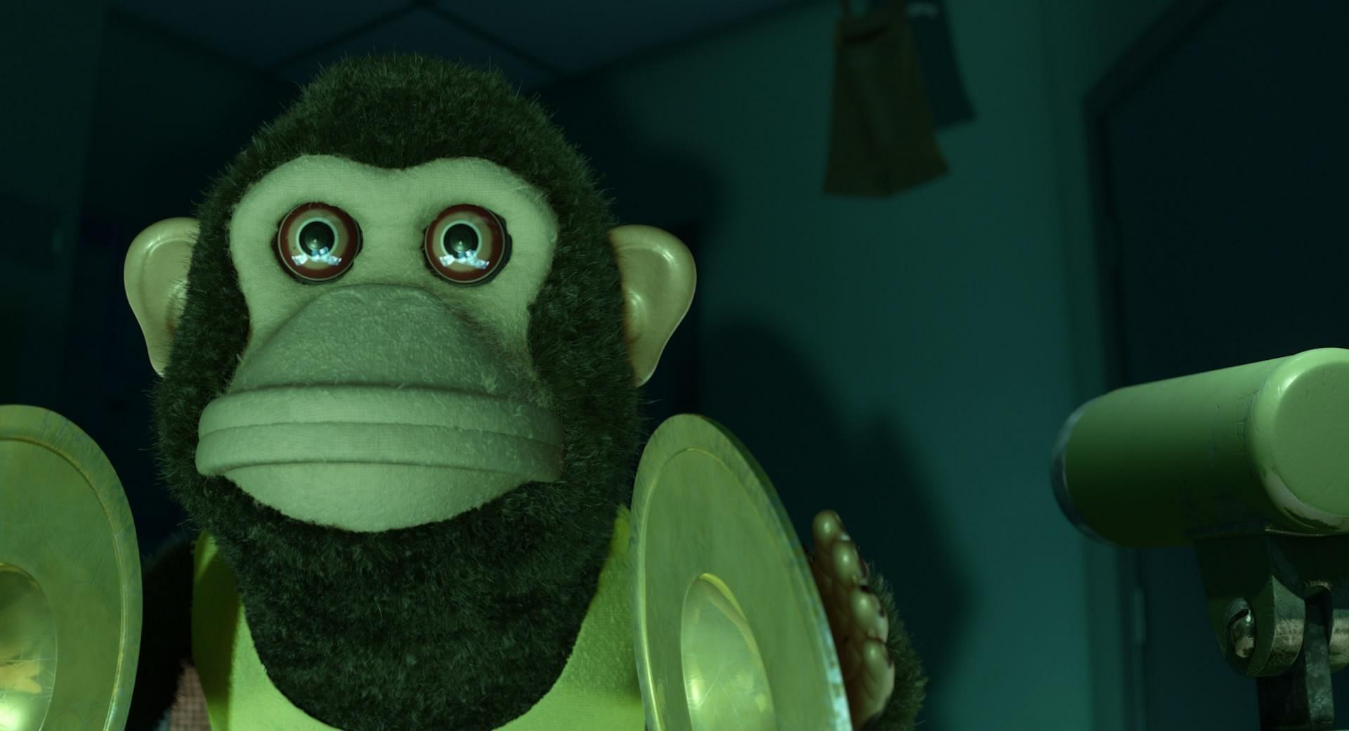 Toy Story 3 Monkey Scary at 320 x 480 iPhone size wallpapers HD quality