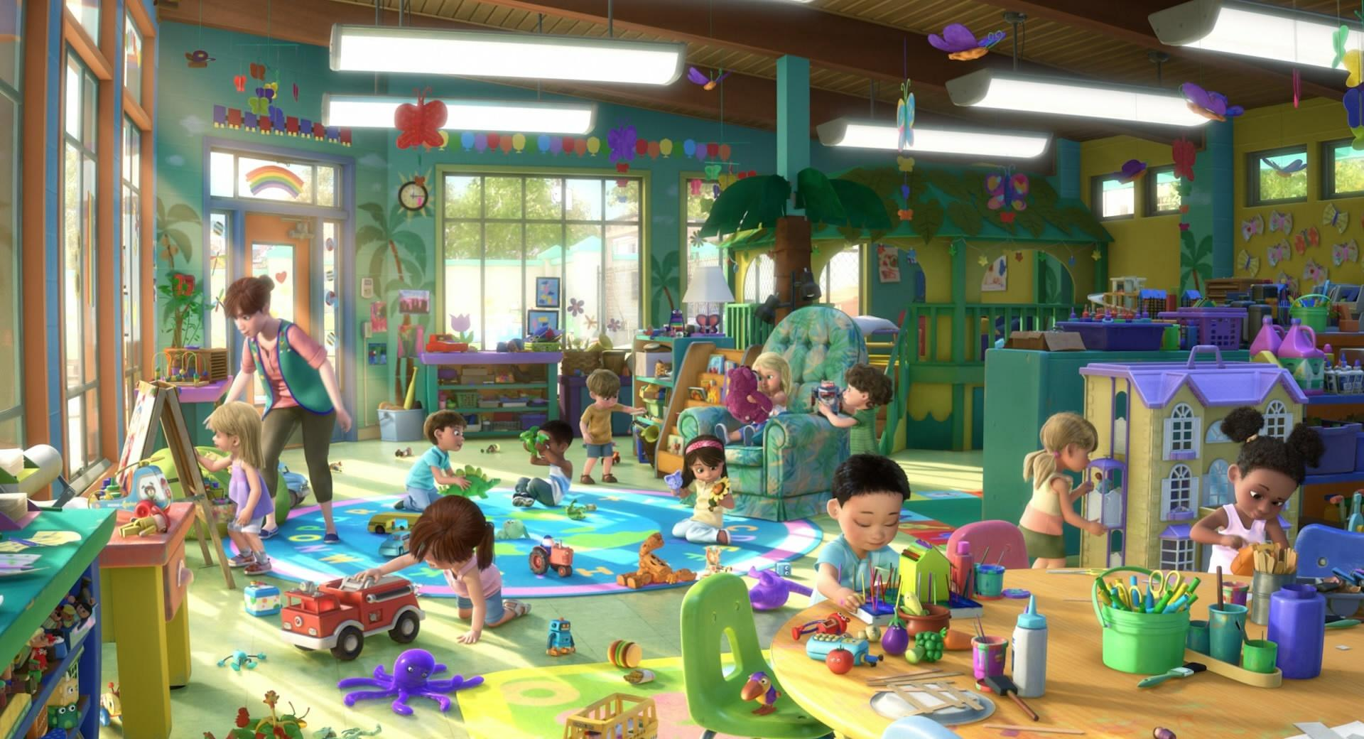 Toy Story 3 Playtime wallpapers HD quality