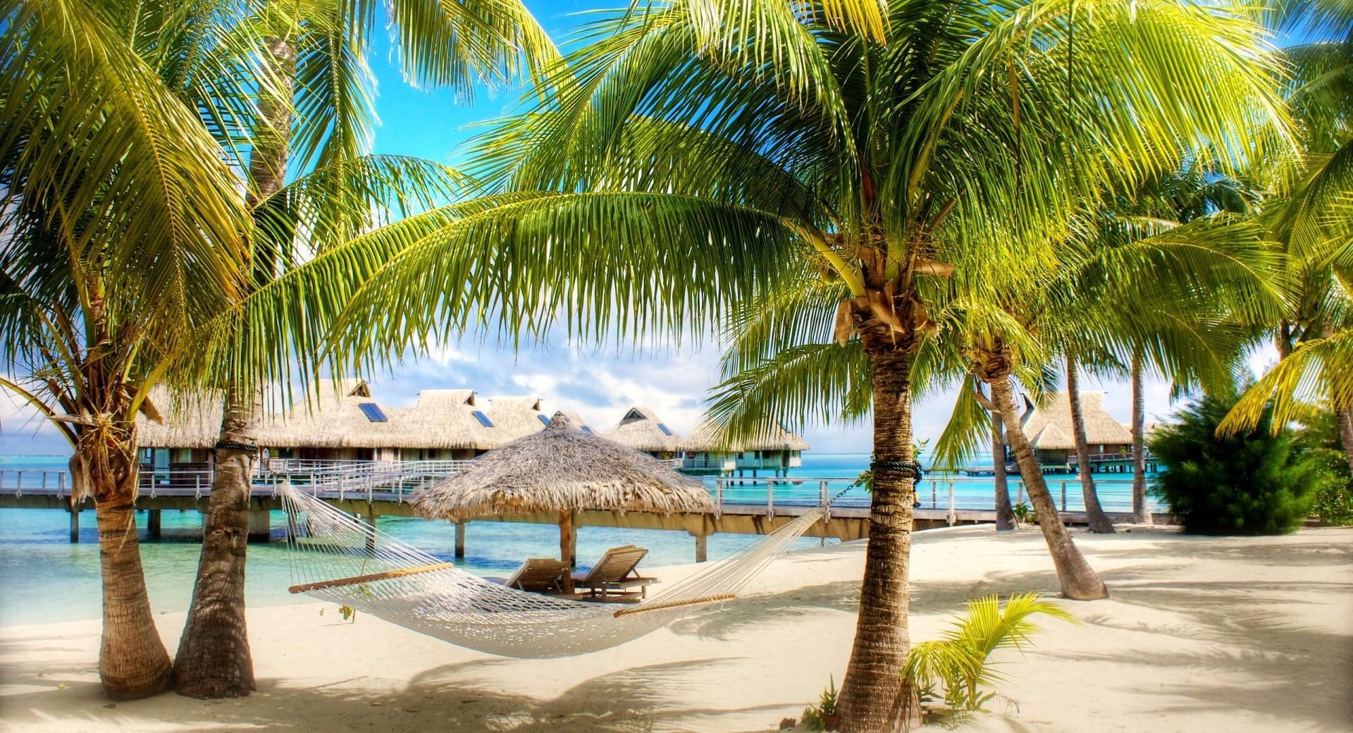 Tropical Beach Resort wallpapers HD quality