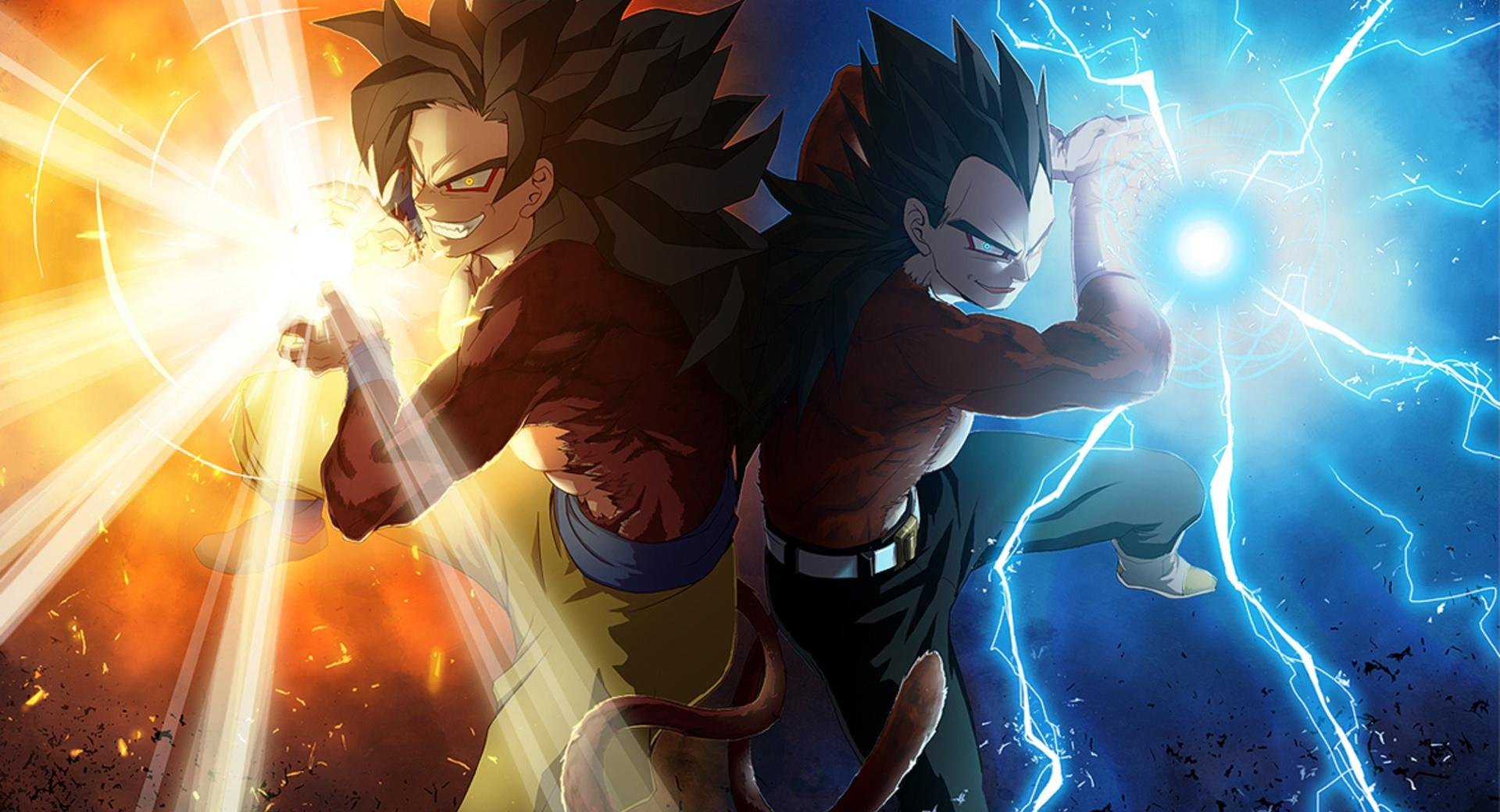 Vegeta and Goku by Madan wallpapers HD quality