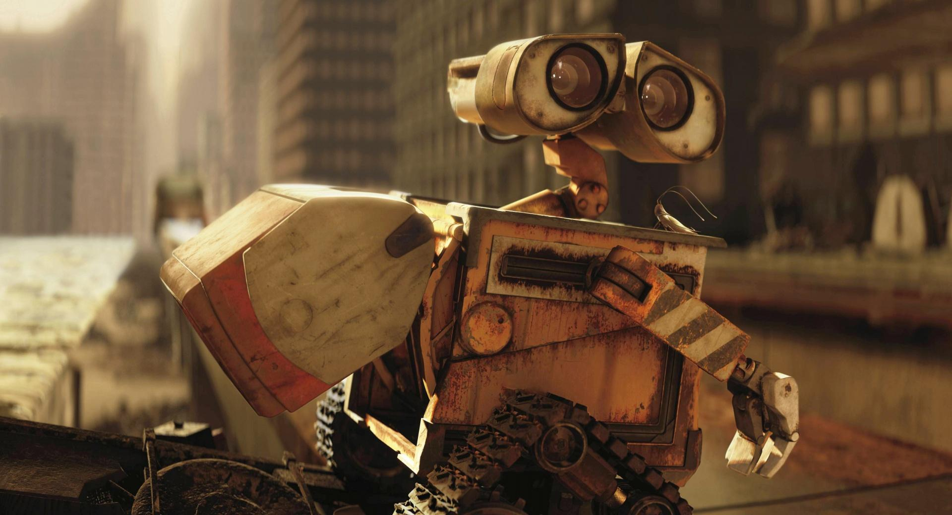 Wall-E In The City wallpapers HD quality