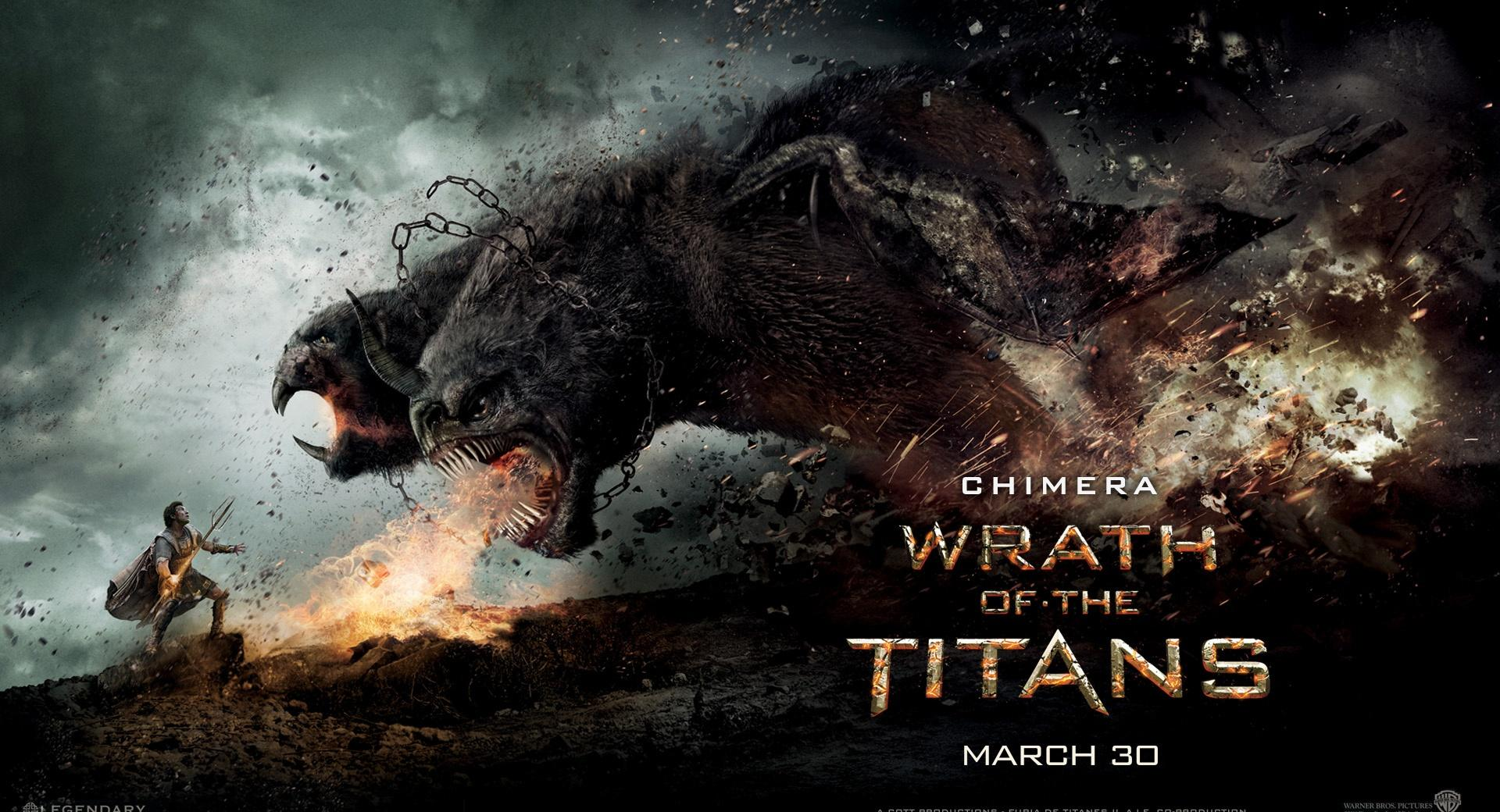 Wrath Of The Titans Chimera wallpapers HD quality