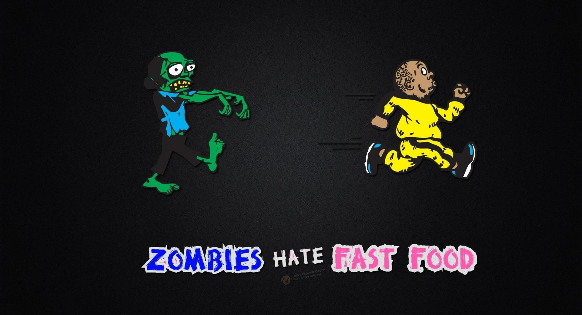 Zombies Hate Fast Food wallpapers HD quality