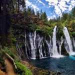 Burney Falls high definition photo