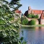 Malbork Castle background