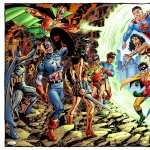 Collage Comics hd wallpaper