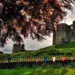 Warkworth Castle hd wallpaper