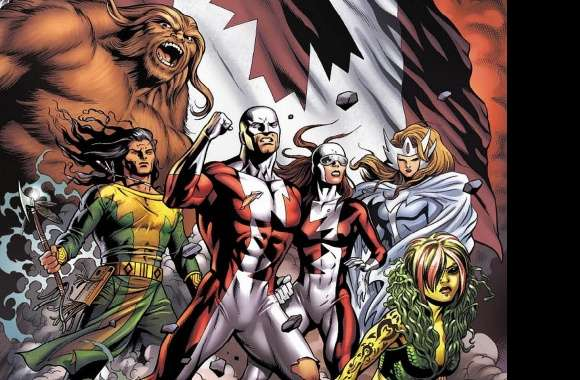Alpha Flight wallpapers hd quality