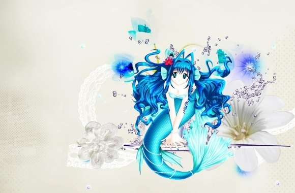 Anime Mermaid