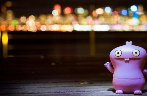 Babo Bathing In Bokeh